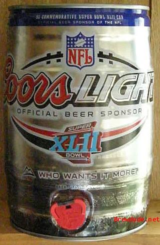 5 Liter Beer Cans